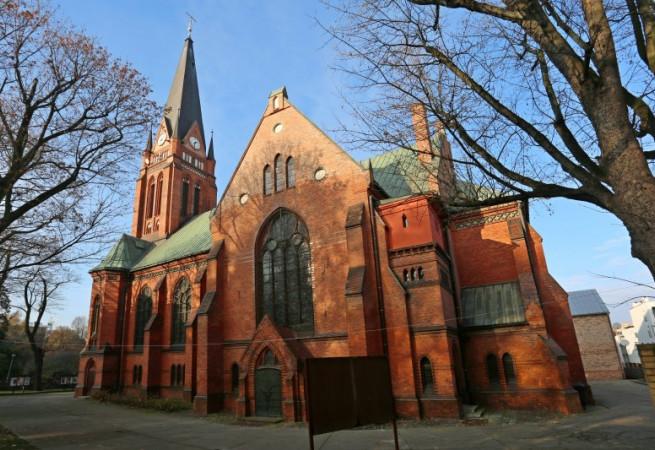 Szczecin Kościół parafialny pw Stanisława Kostki