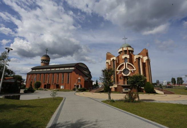 Szczecin Kościół parafialny pw Niep. Serca NMP