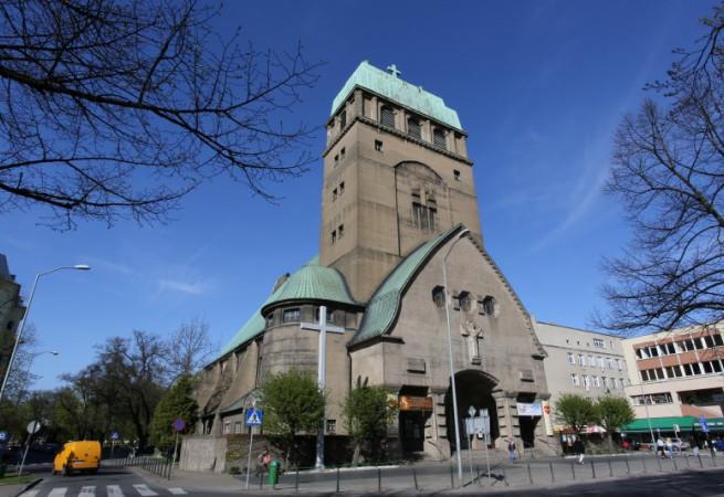 Szczecin Kościół parafialny pw Najśw. Serca Pana Jezusa