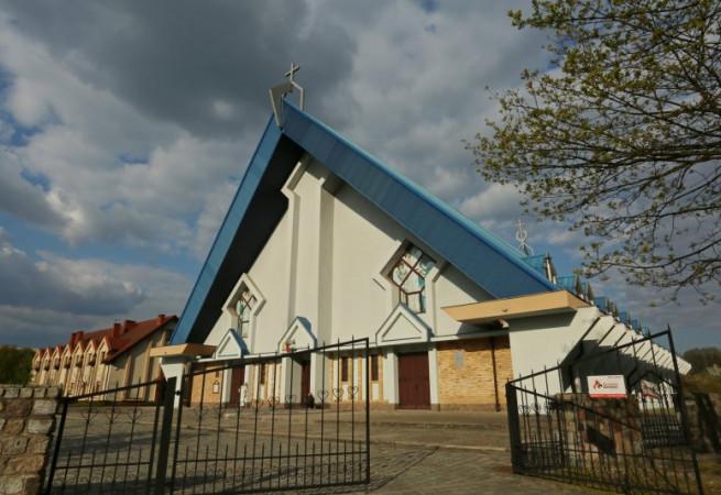 Szczecin Kościół parafialny pw Bożego Ciała
