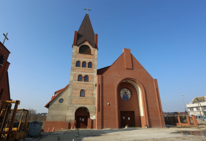 Szczecin Kościół parafialny pw św. S. Faustyny Kowalskiej
