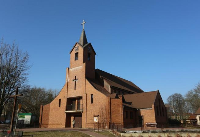 Szczecin Kościół parafialny pw św. Mikołaja