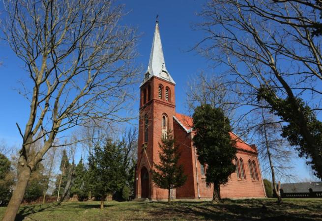 Włodarka Kościół filialny pw Podwyższenia Krzyża Świętego