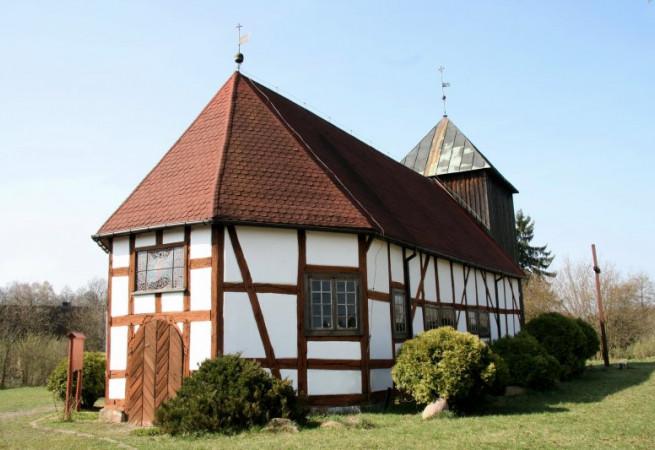 Dzisna Kościół filialny pw św.Stanisława BM