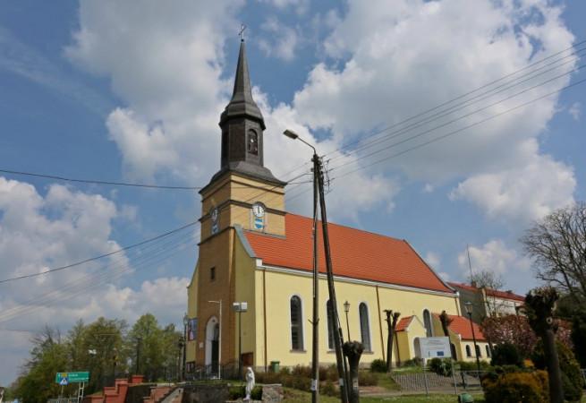 Węgorzyno Kościół parafialny pw Wniebowzięcia NMP
