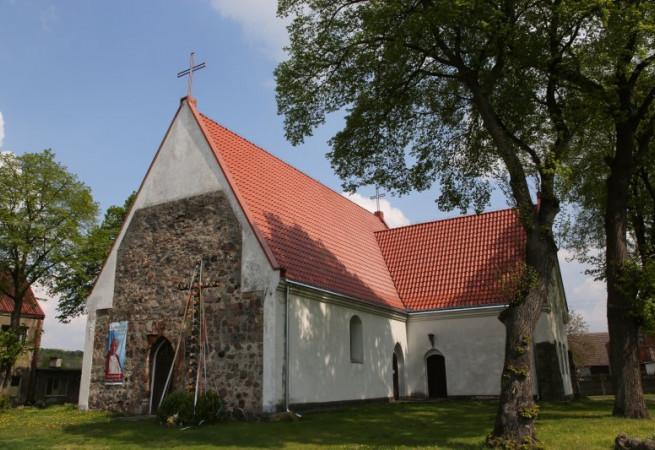 Ognica Kościół filialny pw św.Jadwigi Śląskiej
