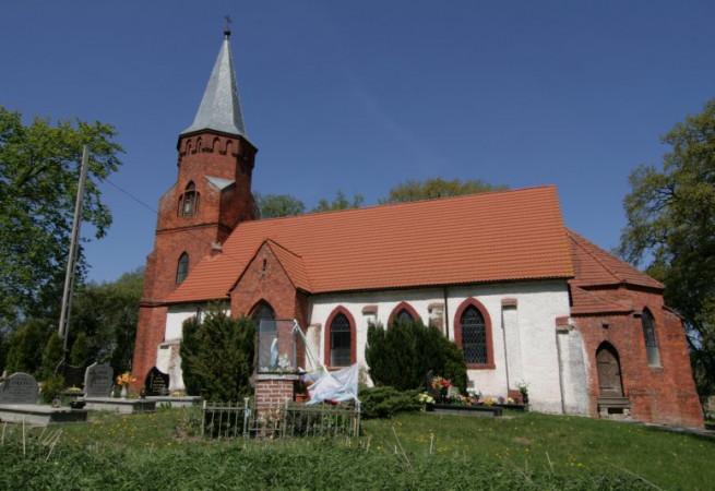 Mierzęcin Kościół filialny pw Niepokalanego Poczęcia NMP