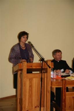 prof. Barbara Kromolicka  /fot.: E. Cybulski /