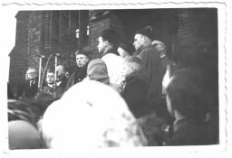 Poświęcenie Krzyża Misyjnego - Katedra pw. św. Jakuba (listopad 1957 r.)