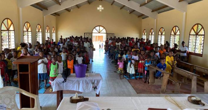 Pierwszy odpust w ofiarowanym przez naszą Archidiecezję kościele w Misokitsy na Madagaskarze