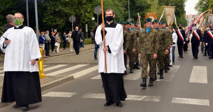 Boże Ciało w Szczecinie 2020