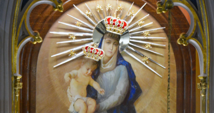 Koronacja obrazu Najświętszej Maryi Panny w Gryfinie