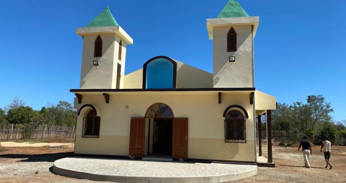 Zakończono budowę kościoła w Misokitsy - dar naszej Archidiecezji dla wiernych na Madagaskarze.