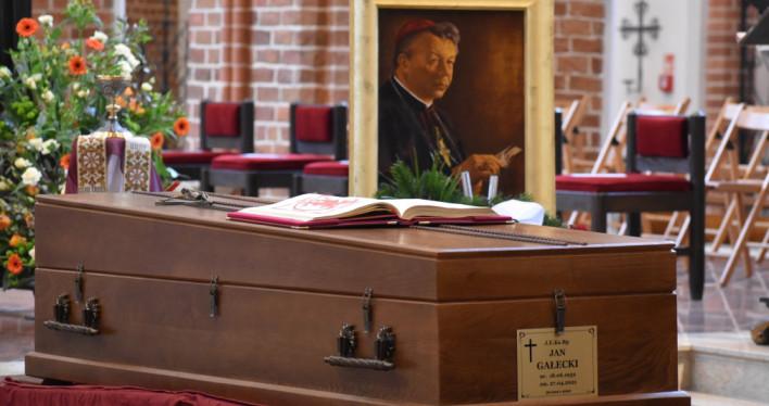 Pogrzeb Biskupa Jana Gałeckiego