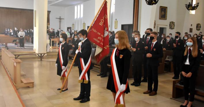 Inauguracja roku szkolnego 2020/21 w Katolickim Liceum Ogólnokształcącym