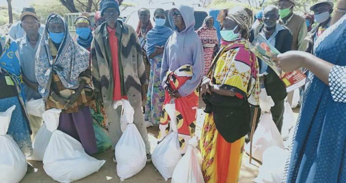 Pomoc żywnościowa dla misji w Kipsing i Isiolo w Kenii