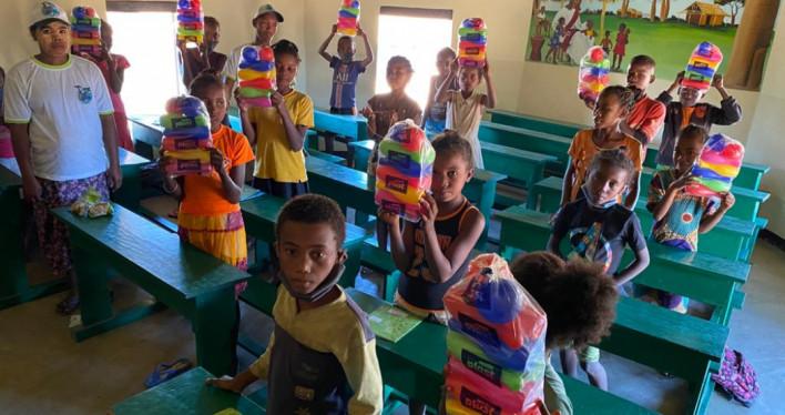 Dzień Dziecka w Misokitsy na Madagaskarze