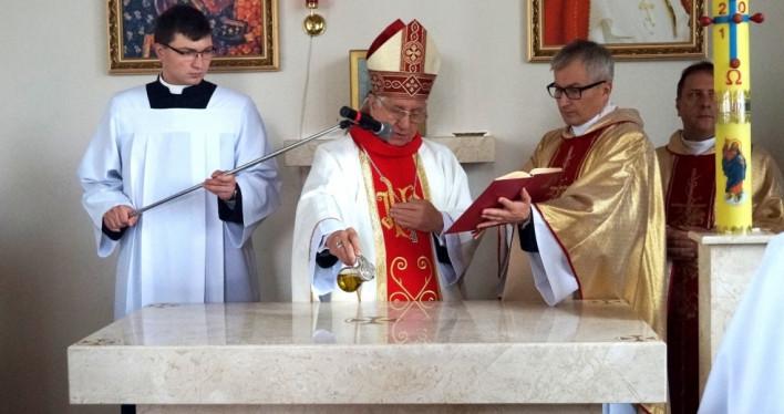 Konsekracja Kościoła pw. Matki Bożej Fatimskiej w Kościnie