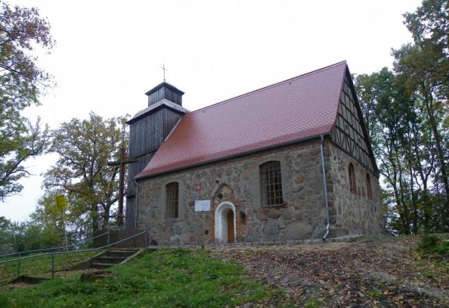 Chwarstno Kościół filialny pw Wniebowzięcia NMP