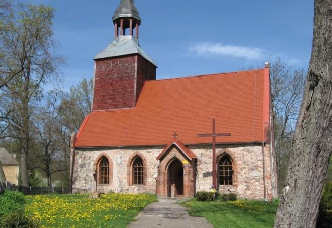 Kluki Kościół filialny pw św.Teresy od Dzieciątka Jezus