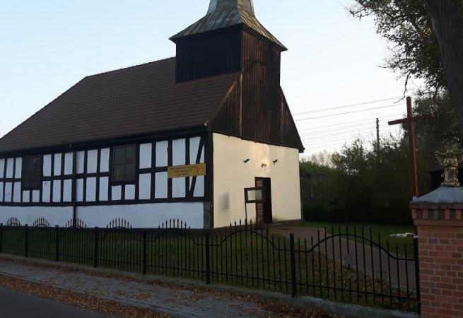 Dąbie Kościół filialny pw św.Teresy od Dzieciątka Jezus