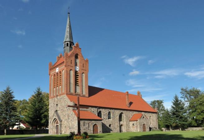Dargomyśl Kościół filialny pw Matki Bożej Wspomożenia Wiernych