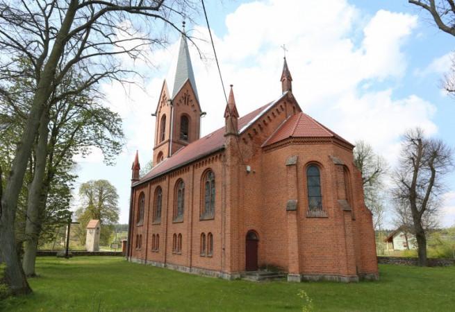 Płonno Kościół filialny pw Podwyższenia Krzyża Świętego