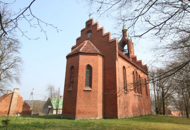Górzno Kościół filialny pw św.Apostołów Piotra i Pawła