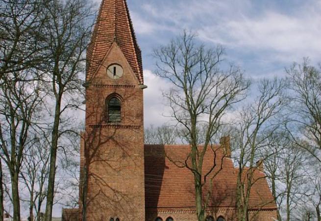 Łasko Kościół filialny pw św.Antoniego z Padwy