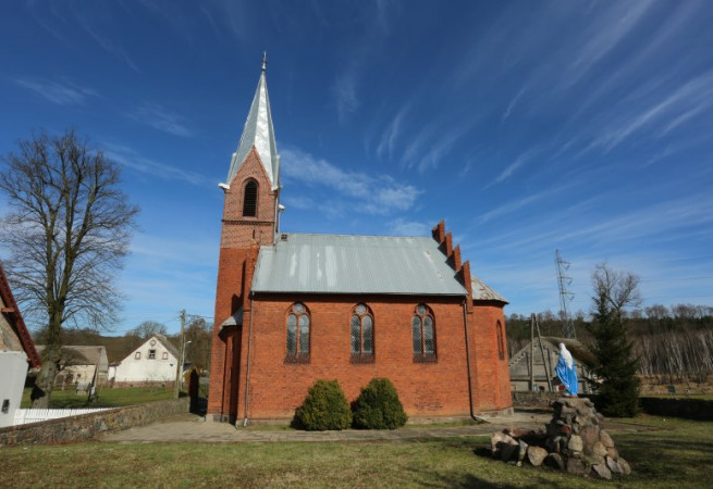 Czartoryja Kościół filialny pw św.Jana Chrzciciela