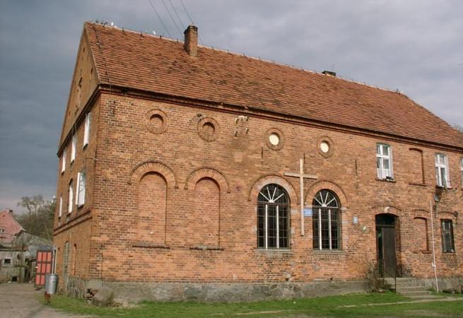 Kiełpino Kościół filialny pw św.Huberta