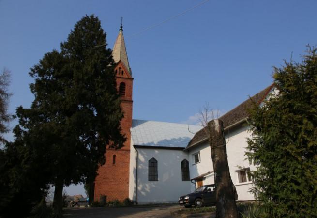 Bielice Kościół parafialny pw św. Wojciecha BM