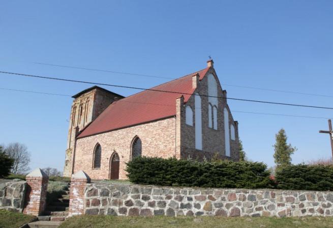 Nastazin Kościół filialny pw św.Anny
