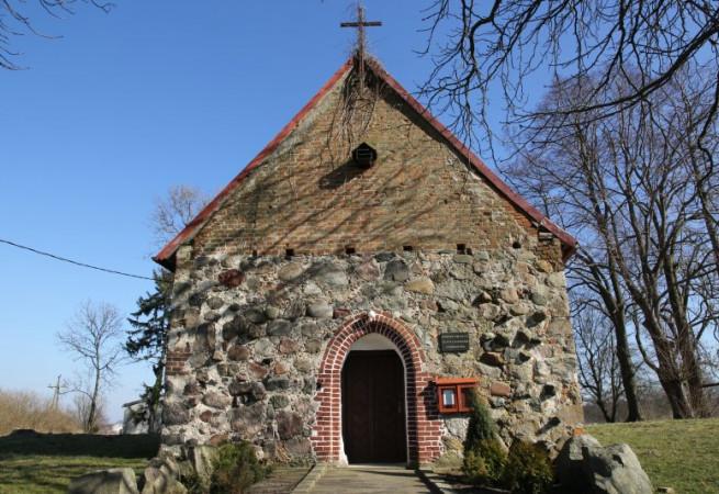 Górki Pomorskie Kościół filialny pw MB Częstochowskiej