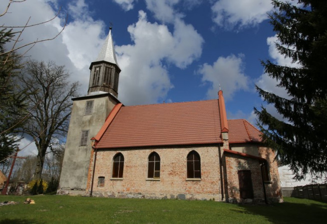 Bród Kościół filialny pw św.Apostołów Piotra i Pawła