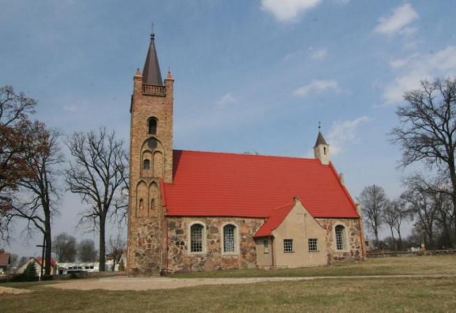 Chojna Barnkowo Kościół filialny pw św.Marka Ewangelisty