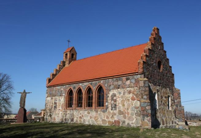 Dołgie Kościół filialny pw św.Apostołów Piotra i Pawła