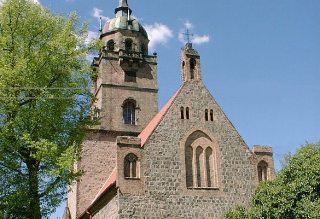 Lubiechów Górny Kościół filialny pw św.Józefa Robotnika