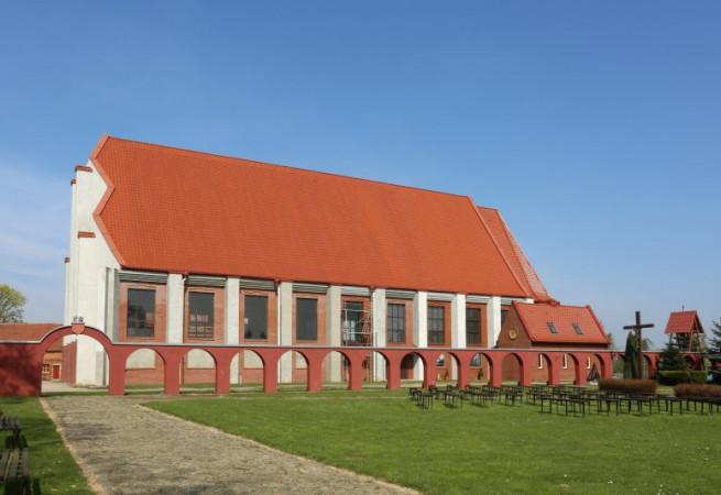 Choszczno Kościół parafialny pw św.Królowej Jadwigi