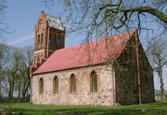 Stary Klukom Kościół filialny pw Wniebowstąpienia Pańskiego