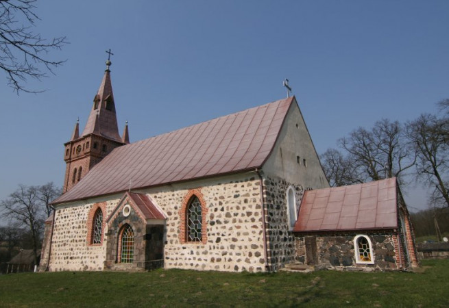 Kurzycko Kościół filialny pw św.Apostołów Piotra i Pawła