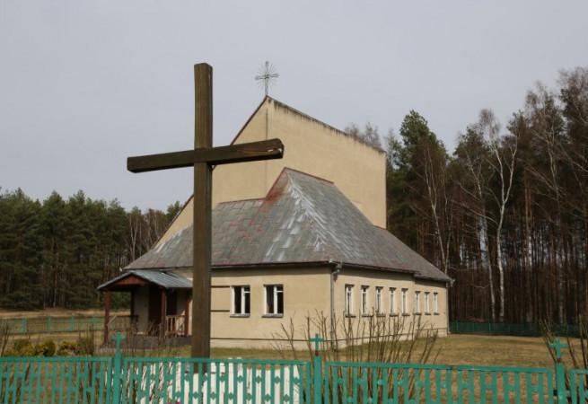 Mostno Kościół filialny pw Matki Bożej Wspomożenia Wiernych