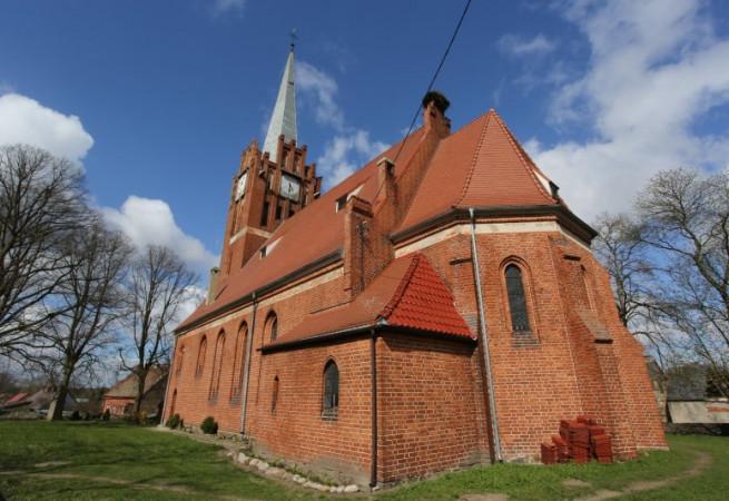 Lutkowo Kościół filialny pw Chrystusa Króla
