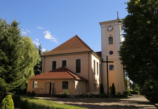 Dobrzany Kościół parafialny pw św. Michała Archanioła