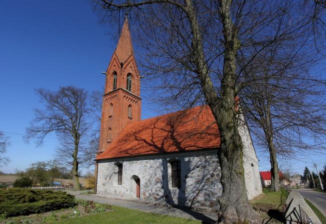 Ognica Kościół filialny pw św.Apostołów Piotra i Pawła