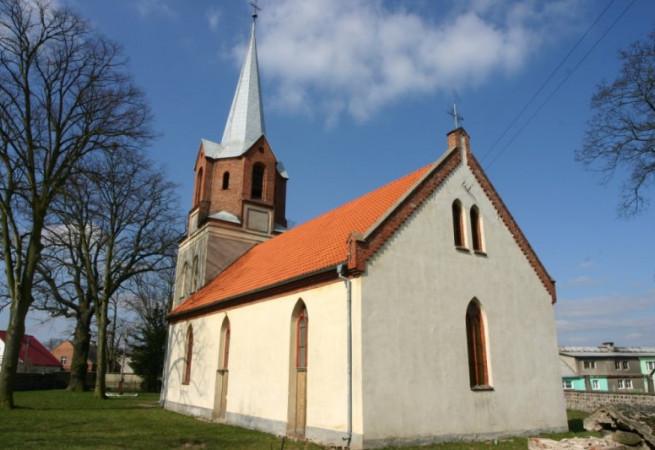 Dobropole Pyrzyckie Kościół parafialny pw Niep. Poczęcia NMP