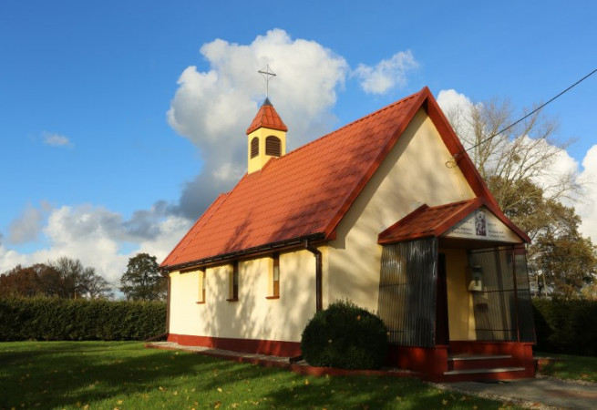 Gadom Kościół filialny pw św.Wojciecha BM