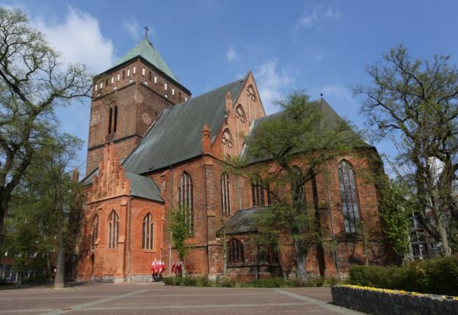 Goleniów Kościół parafialny pw św. Katarzyny