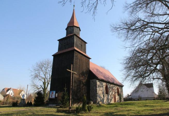 Marszewo Kościół filialny pw Wniebowstąpienia Pańskiego