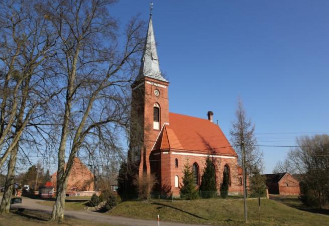 Niewiadowo Kościół filialny pw Wniebowzięcia NMP